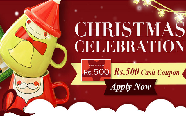 Enjoy Free Rs 500 as Christmas Gift from Cheezmall