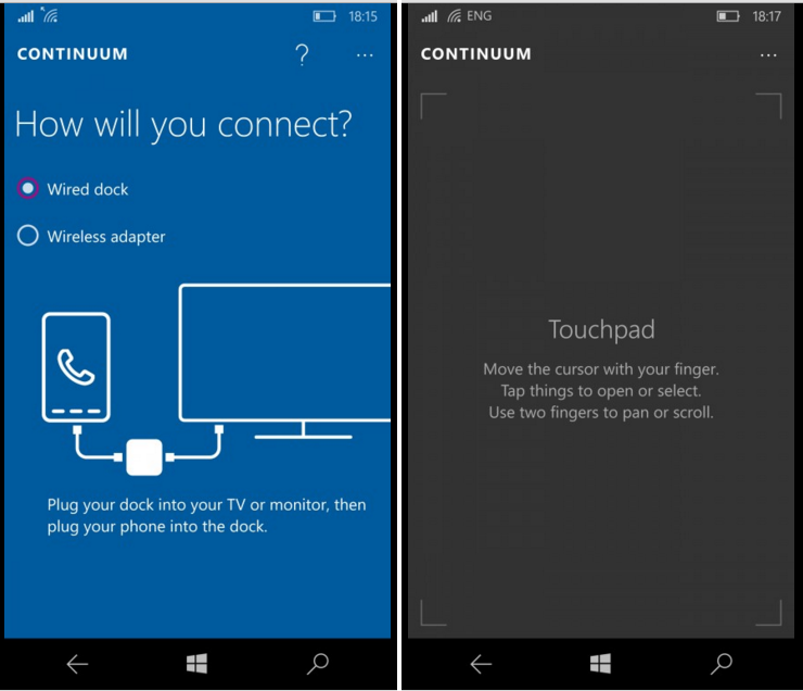 Microsoft Lumia 950 continum