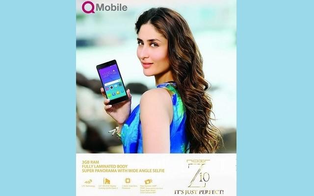 QMobile Again Hires Kareena Kapoor for the Advertisement of Noir Z10