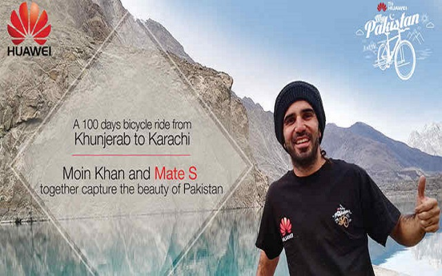 Moin Khan Expresses His Journey Across Pakistan with Huawei Mate S