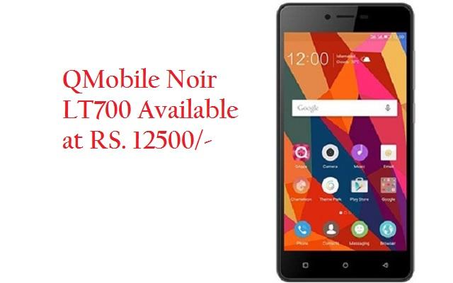 QMobile Launches A Stunning Smartphone Noir LT700