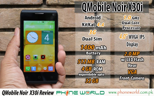 QMobile noir x30i review