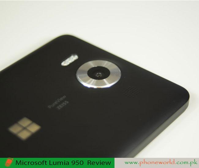 Microsoft Lumia 950 Camera