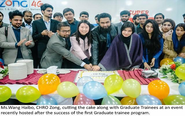 Zong Celebrates Success of its Graduate Trainee Program