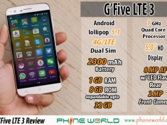 GFive LTE 3 Review