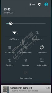GFive LTE 3 Review Interface