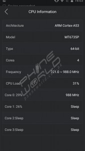 GFive LTE 3 Review benchmarking