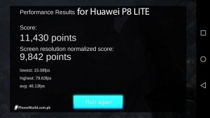 GFive LTE 3 Review GPU Benchmarking