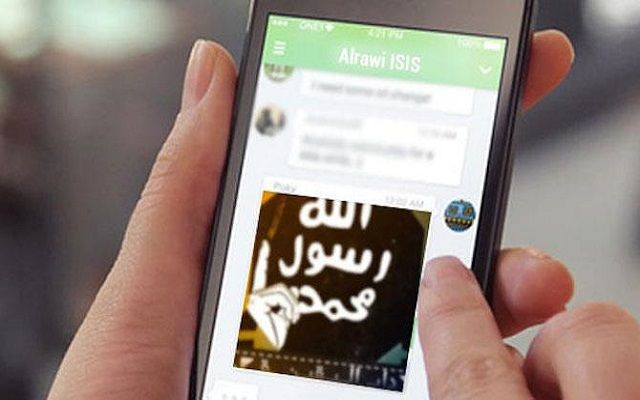 ISIS has Developed its Own Chat App