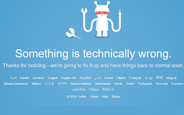 Twitter Goes Down Worldwide Due to Technical Error