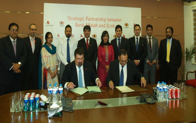 Bank Alfalah Partners with 1Link