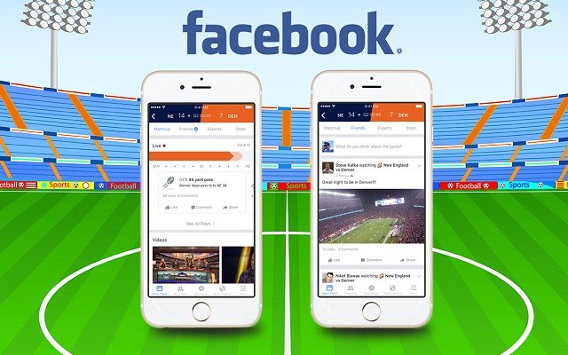 Facebook Introduces Real Time Sports Stadium for Sports Lovers