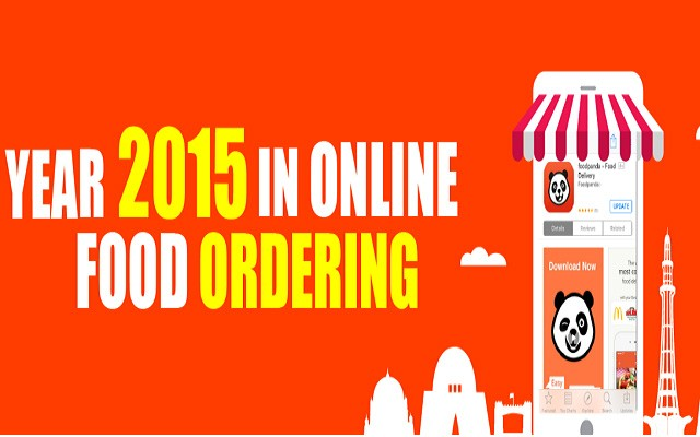 How was the Year 2015 for Online Food Ordering Giant?