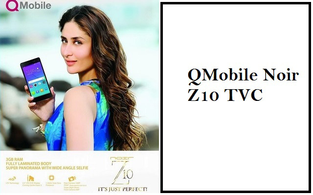 QMobile Noir Z10 TVC-It's Just Perfect Smartphone