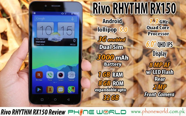 rivo rhythm rx150 review