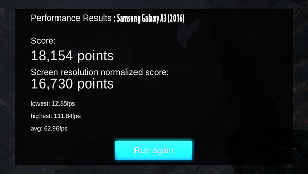 samsung galaxy a3 2016 review GPU