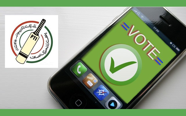 PTI to Hold Intra-Party Elections on Smartphones
