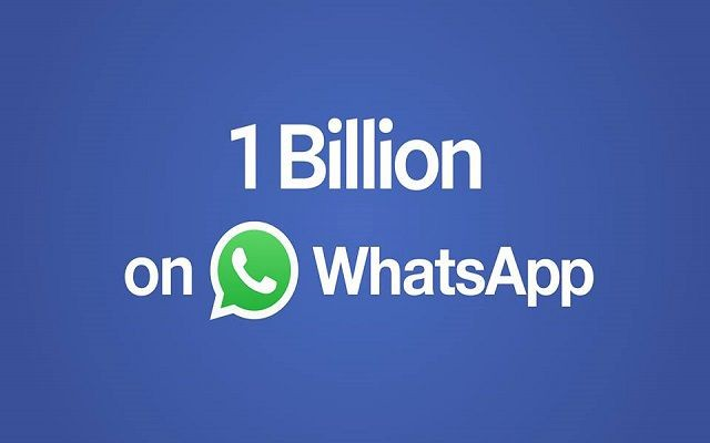 WhatsApp Reached Billion-Users Today