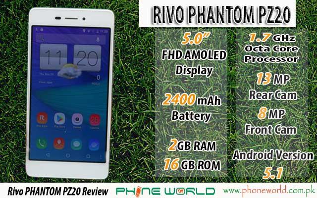 Rivo PHANTOM PZ20 Feature image