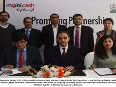 Mobicash Partners with NADRA to Expand Branchless Banking Footprint