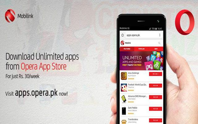 Now Get Access to Unlimited Apps with Opera App Store