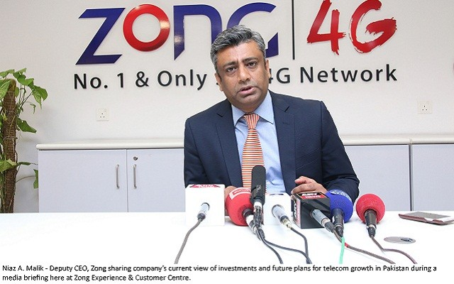 Zong Shares its Current Investments and Future Plan for Telecom Growth