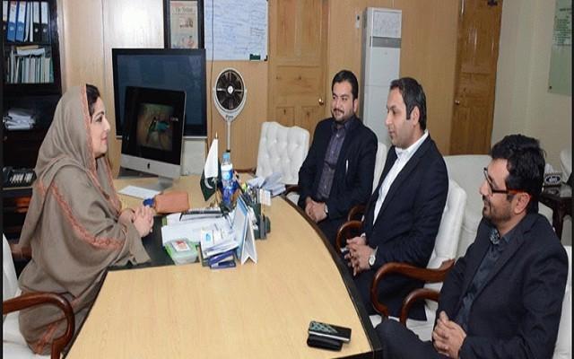 Haier Delegation Calls on Anusha Rehman for Establishing Mobile Manufacturing Industry in Pakistan