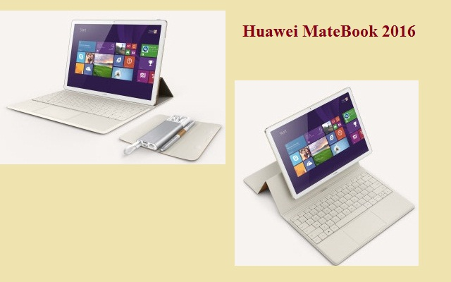 Huawei Launches MateBook at Mobile World Congress 2016