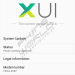 infinix zero 3 interface XMUI
