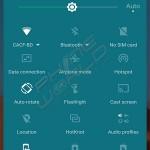 infinix zero 3 quick settings interface