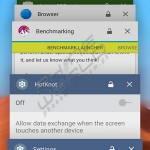 infinix zero 3 taskbar interface