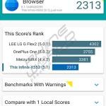 infinix zero 3 vellamo browser score