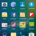 qmobile noir m99 interface menu