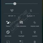 qmobile noir m99 notification interface