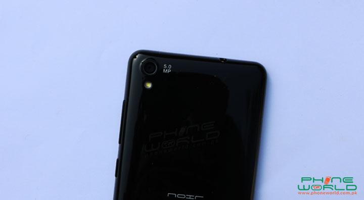 qmobile noir w80 review back camera