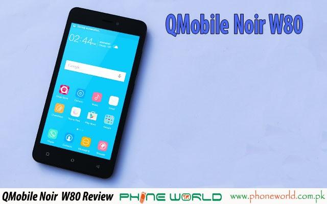 qmobile noir w80 review specifications