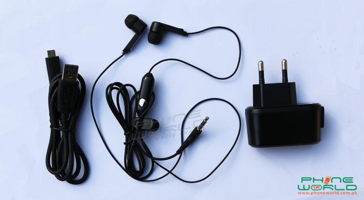 qmobile noir w80 unbox accessories image