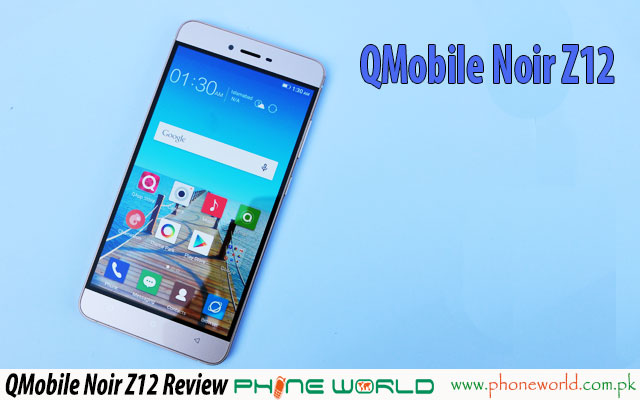 qmobile noir z12 Review