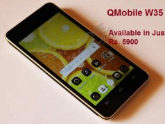 QMobile Presents Noir W35 at an Amazing Price of Rs 5900