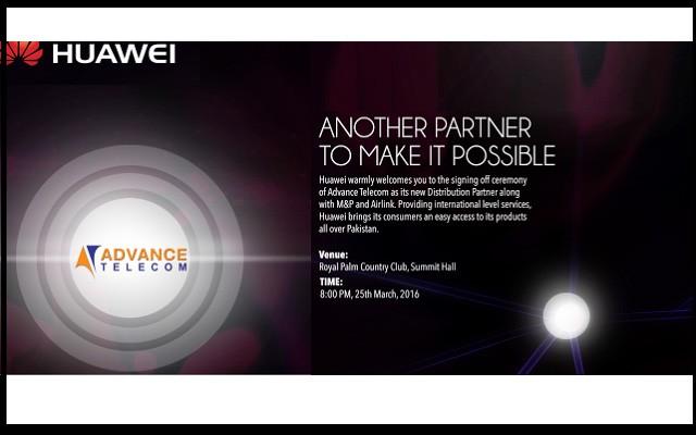 Advance Telecom to Become New Distributor of Huawei