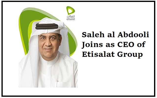 Etisalat Group Announces Saleh al Abdooli as New CEO