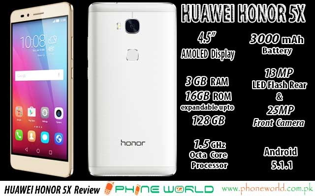 Huawei HONOR 5X Featured Template 640x400