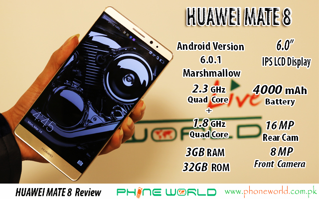Photo of HUAWEI MATE 8 Review