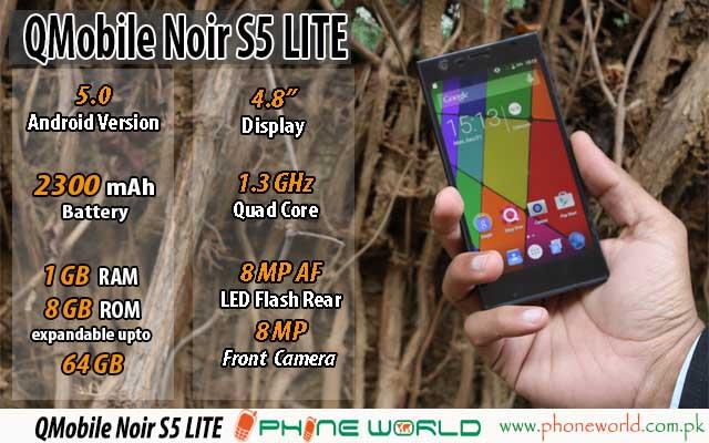 QMobile Noir S5 Featured Template 640x400