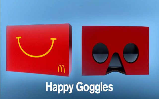 Kids Will Soon be Able to Turn their Happy Meals into VR Goggles