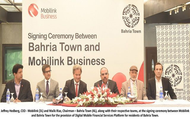Mobilink goes Digital with Bahria Town