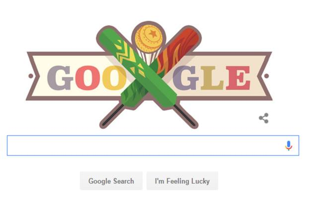 Google Doodle Celebrates ICC T20 Cricket World Cup