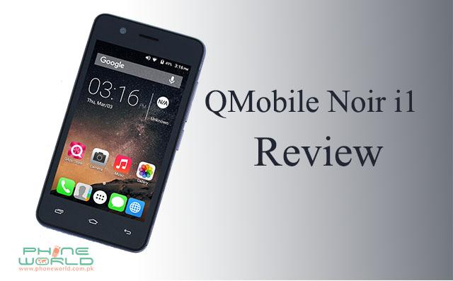 QMobile Noir i1 display