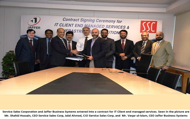 Service Sales Corporation signs MoU with Jaffer Business Systems for IT Solutions