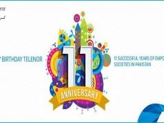 Telenor Pakistan Celebrating its 11th Anniversary